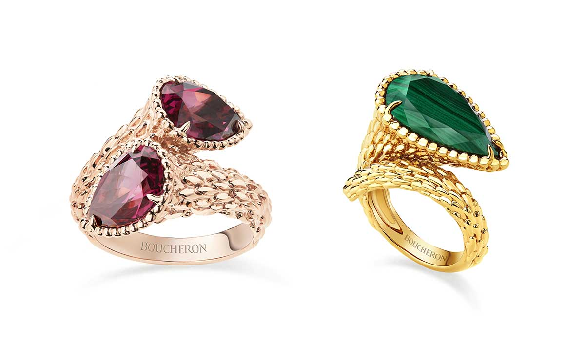 Boucheron Serpent Bohème jewellery collection