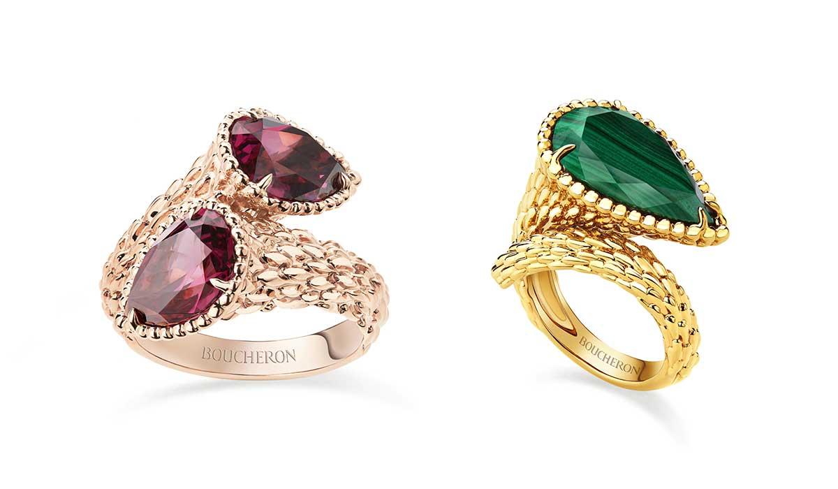 Boucheron Serpent Bohème jewellery collection