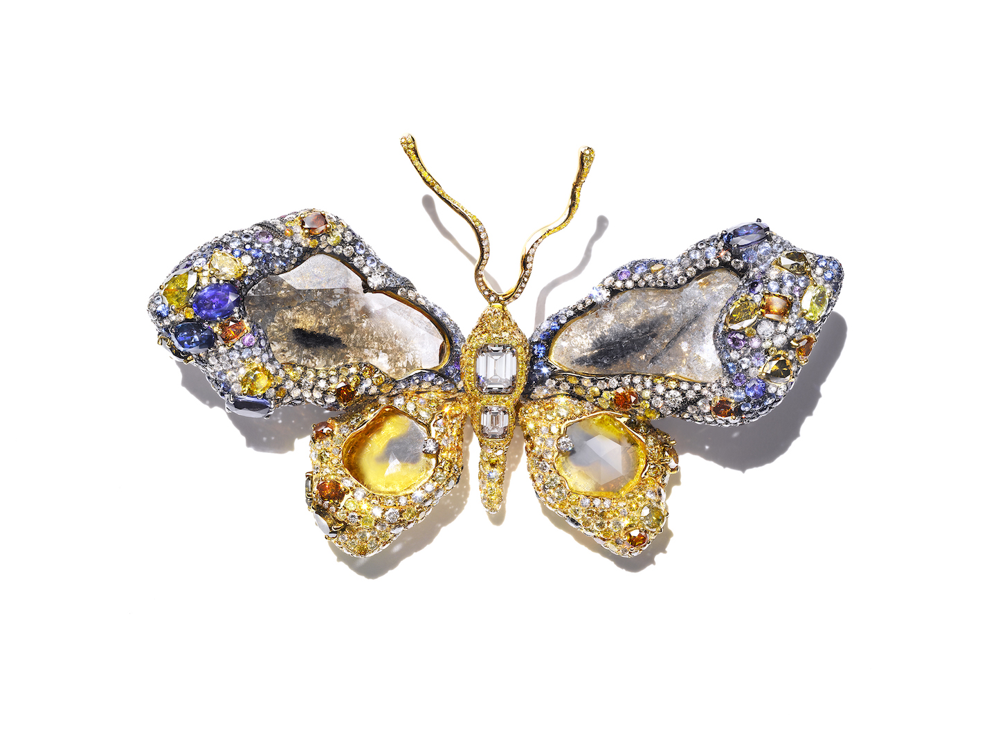 CINDY CHAO The Art Jewel 2009 Royal Butterfly Brooch
