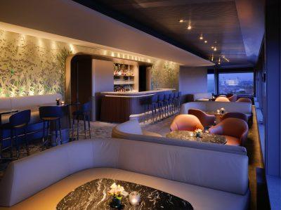 Hotel Eden Rome - Il Giardino Bar evening