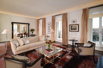 Hotel Eden Rome - Villa Medici Presidential Suite living