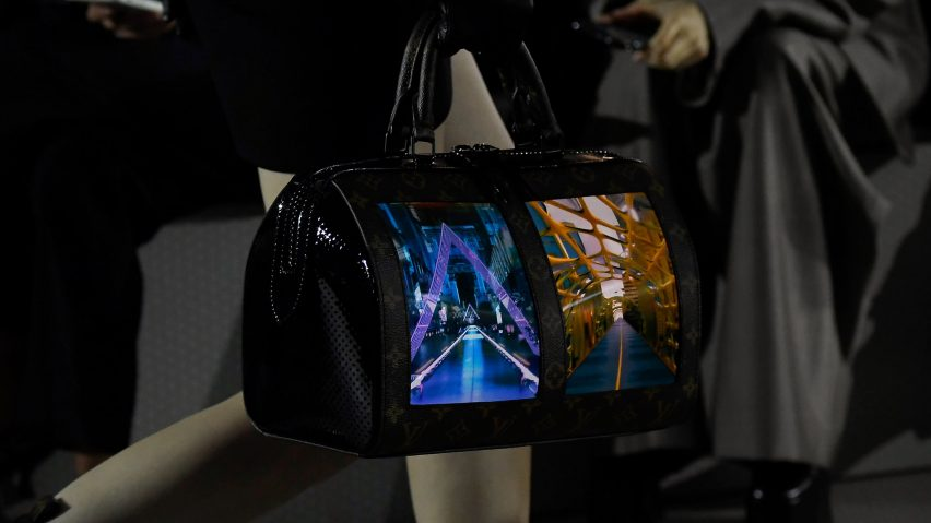 """Louis Vuitton """"Canvas of the Future"""" handbag"""