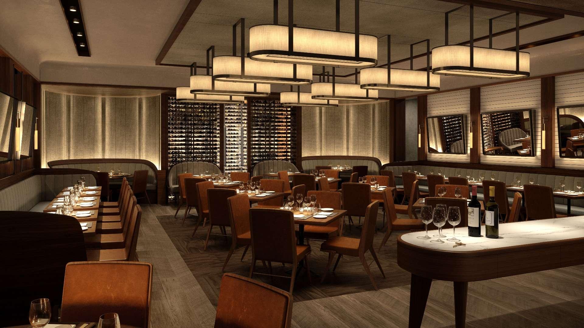 Sette Restaurant at Bulgari Hotel London