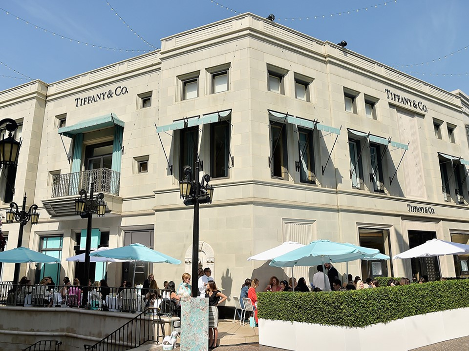 Tiffany Cafe at Beverly Hills, L.A.