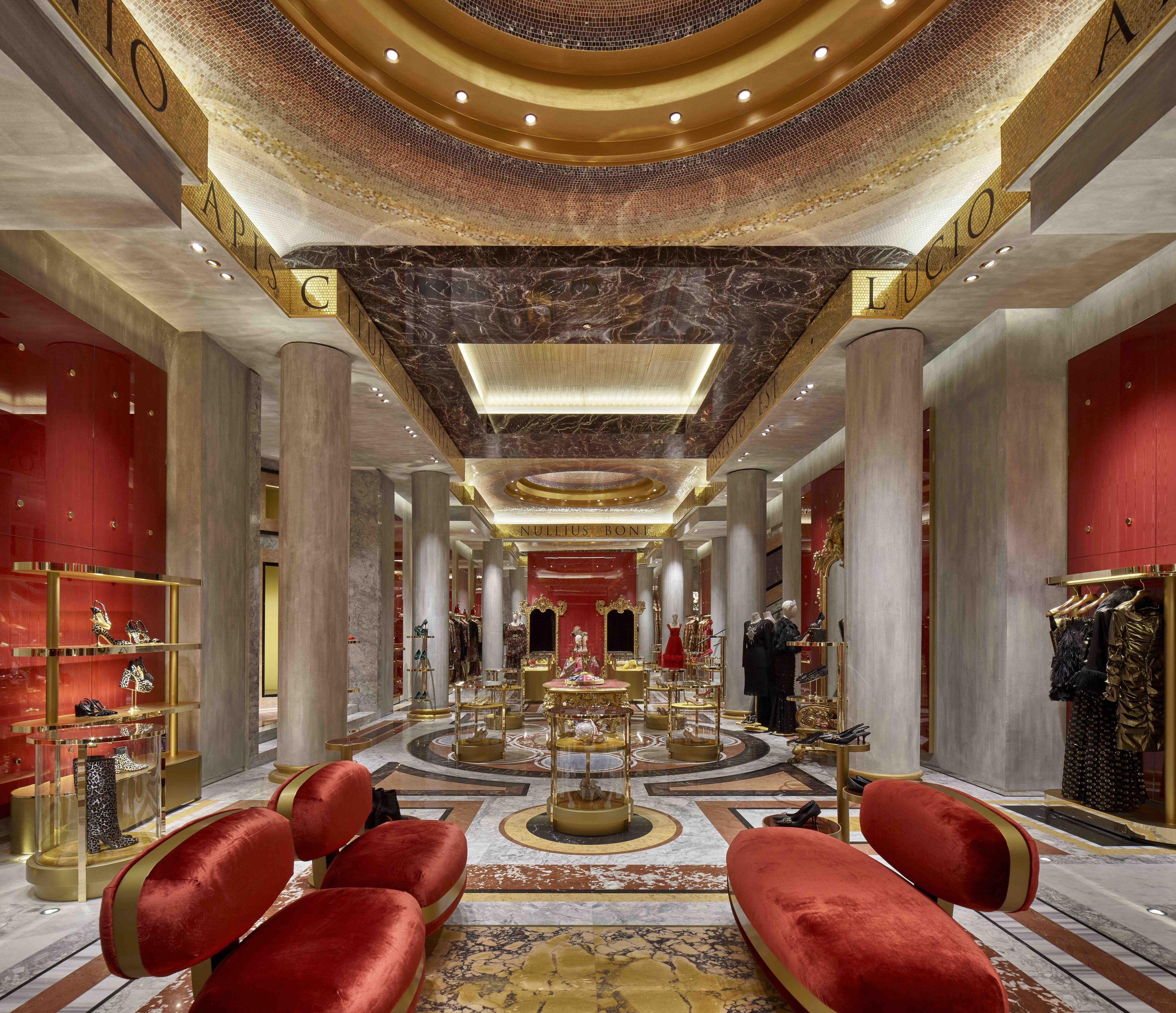Dolce & Gabbana newly renovated store in Rome, Piazza di Spagna
