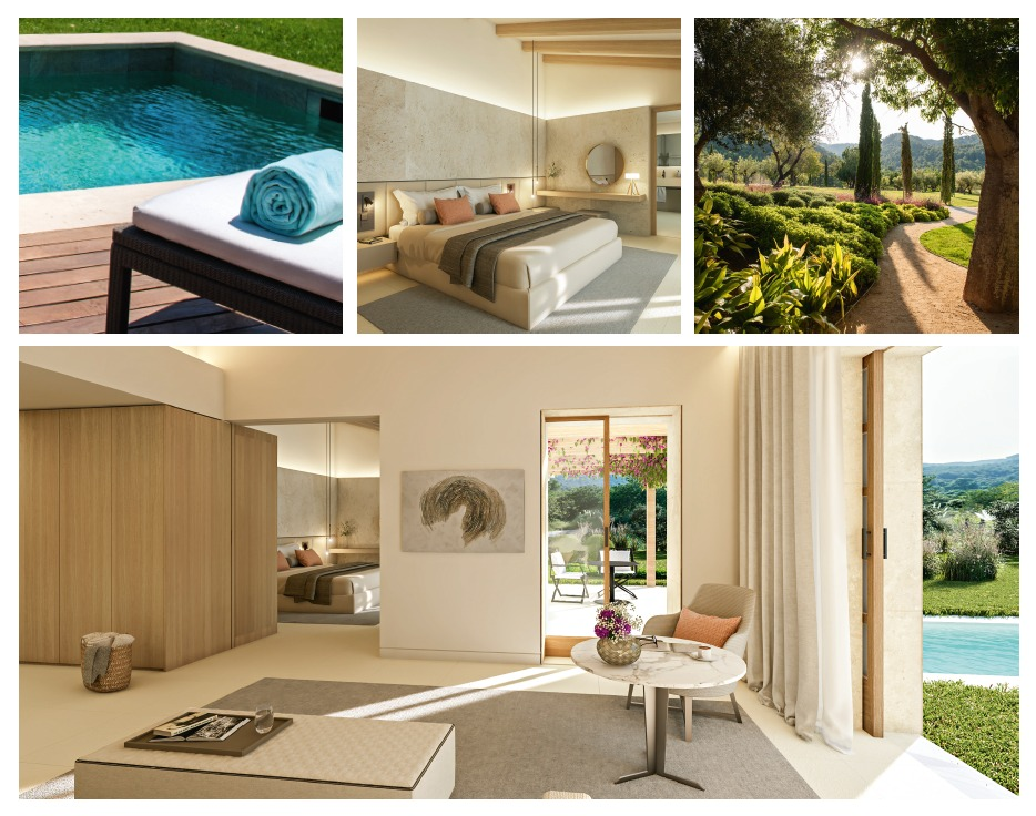 Castell Son Claret, Mallorca - new Pool Suite