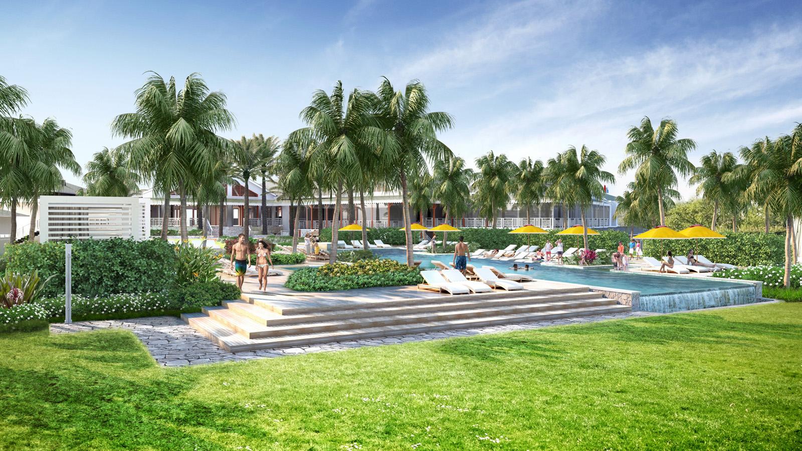 Four Seasons Resort Nevis renovation - new infinity pool