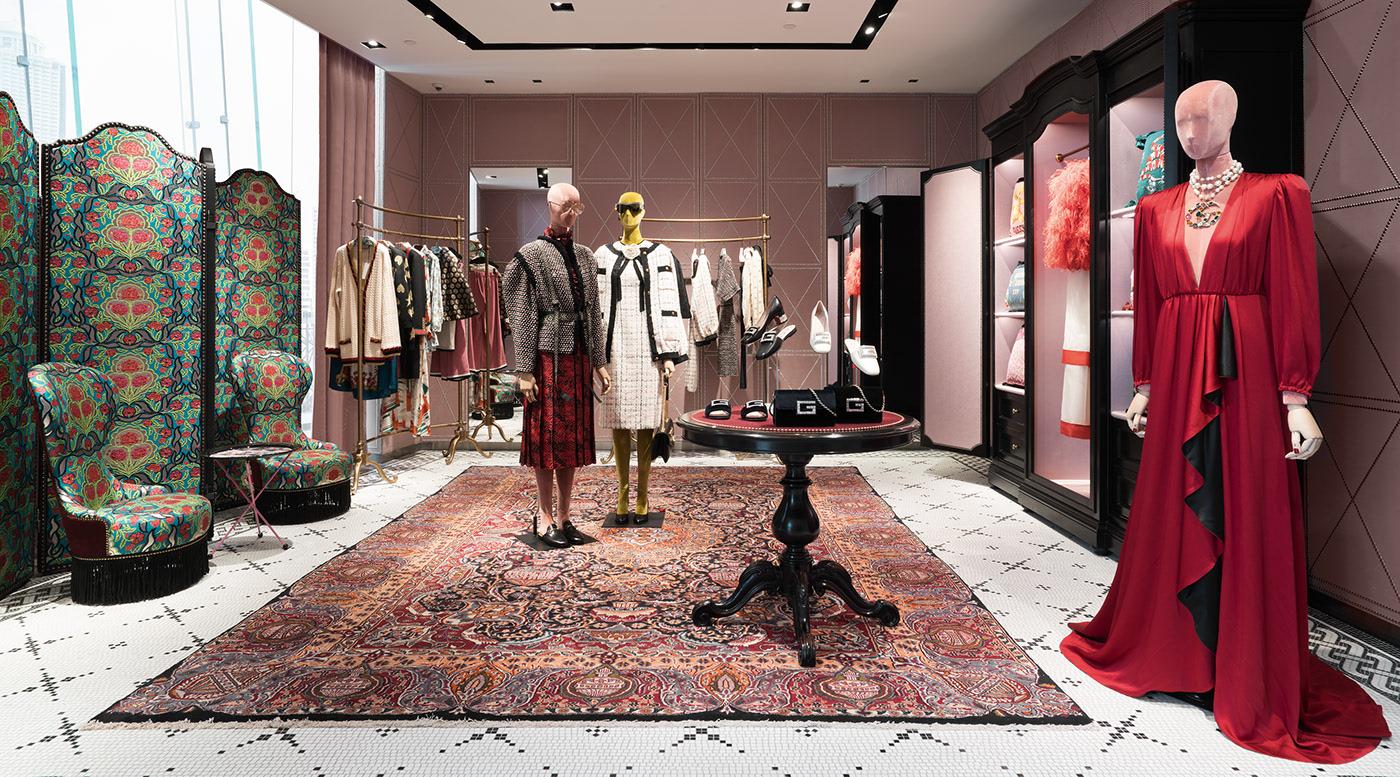 Gucci store in Bangkok at Inconsiam