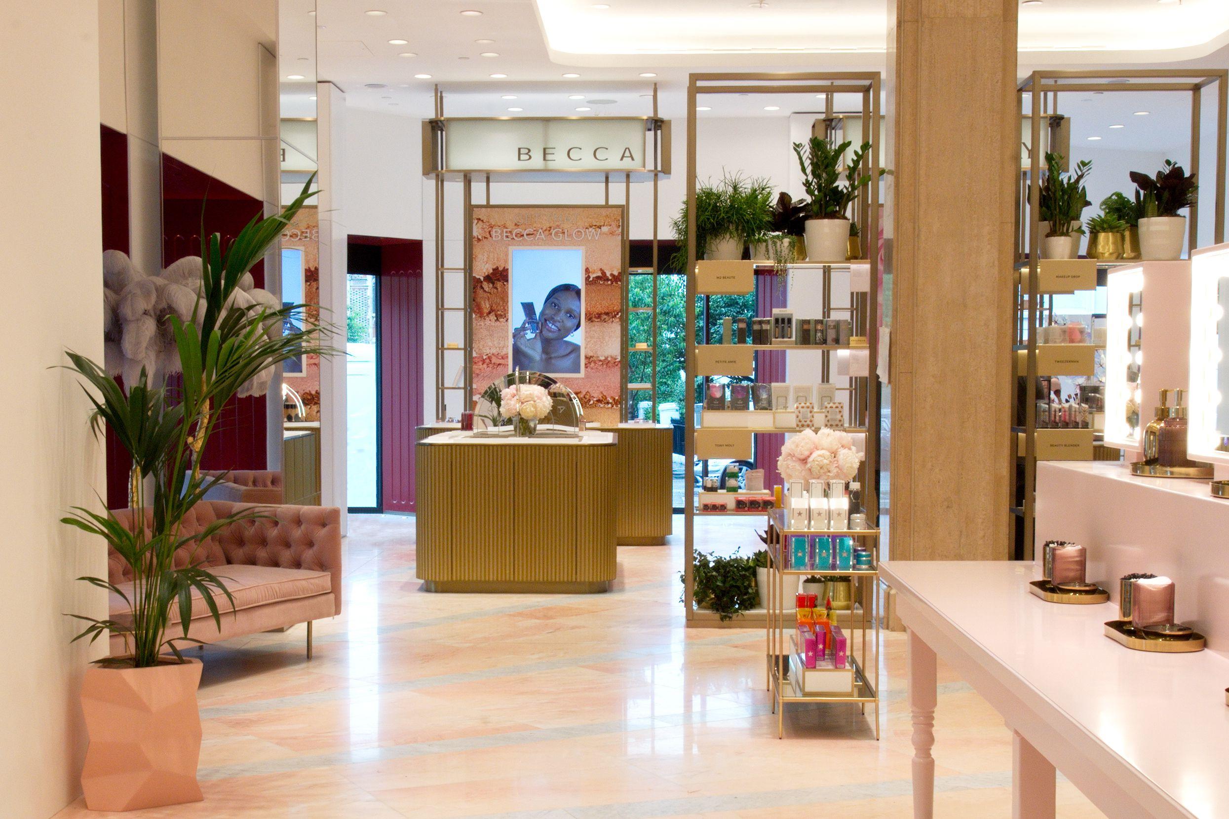 Harrods newly renovated Beauty Hall