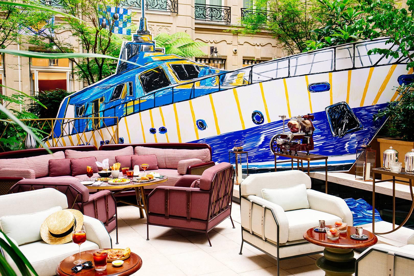 Hotel de Crillon's Yacht Club celebrates 100th anniversary