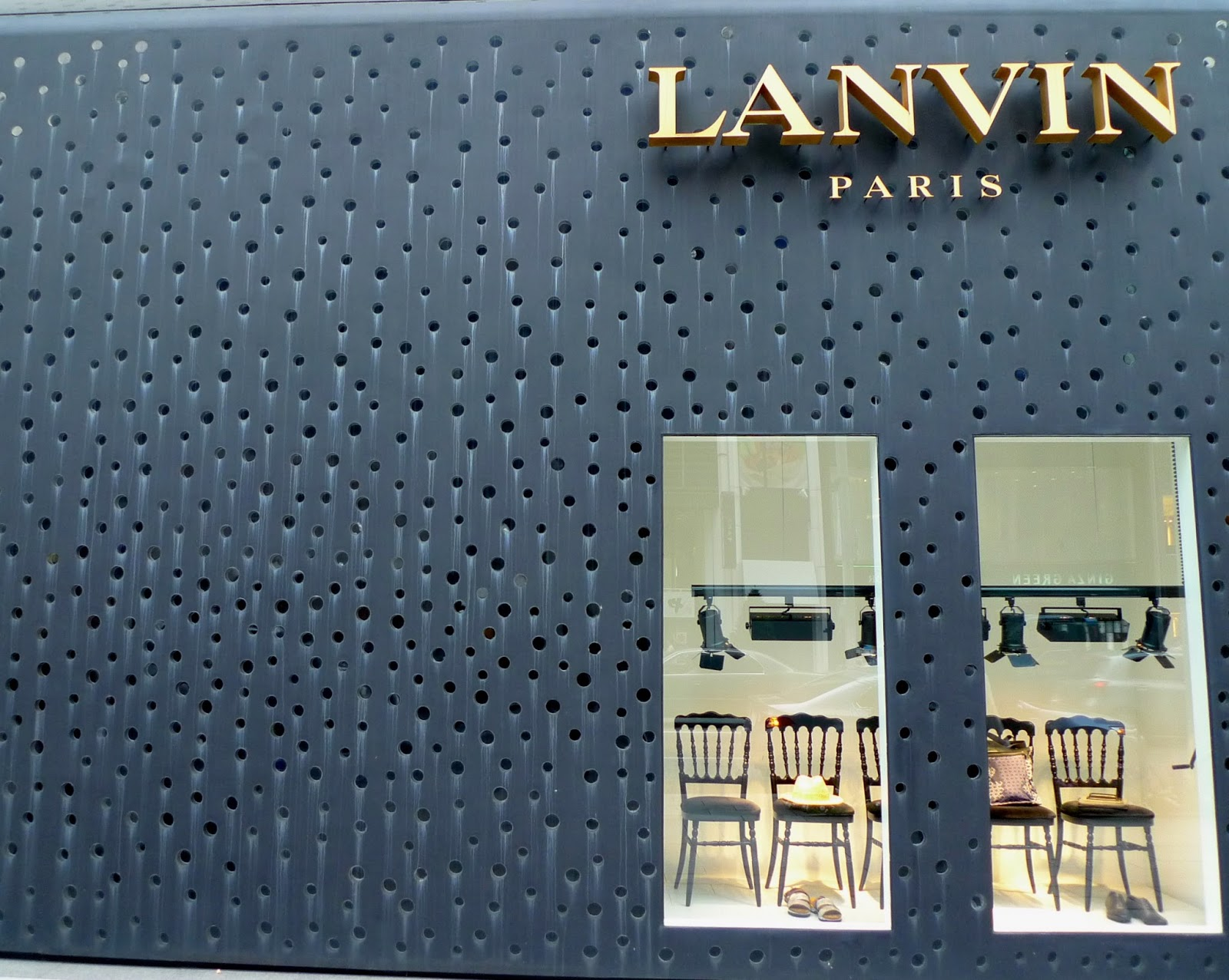 Lanvin store Ginza, Tokyo