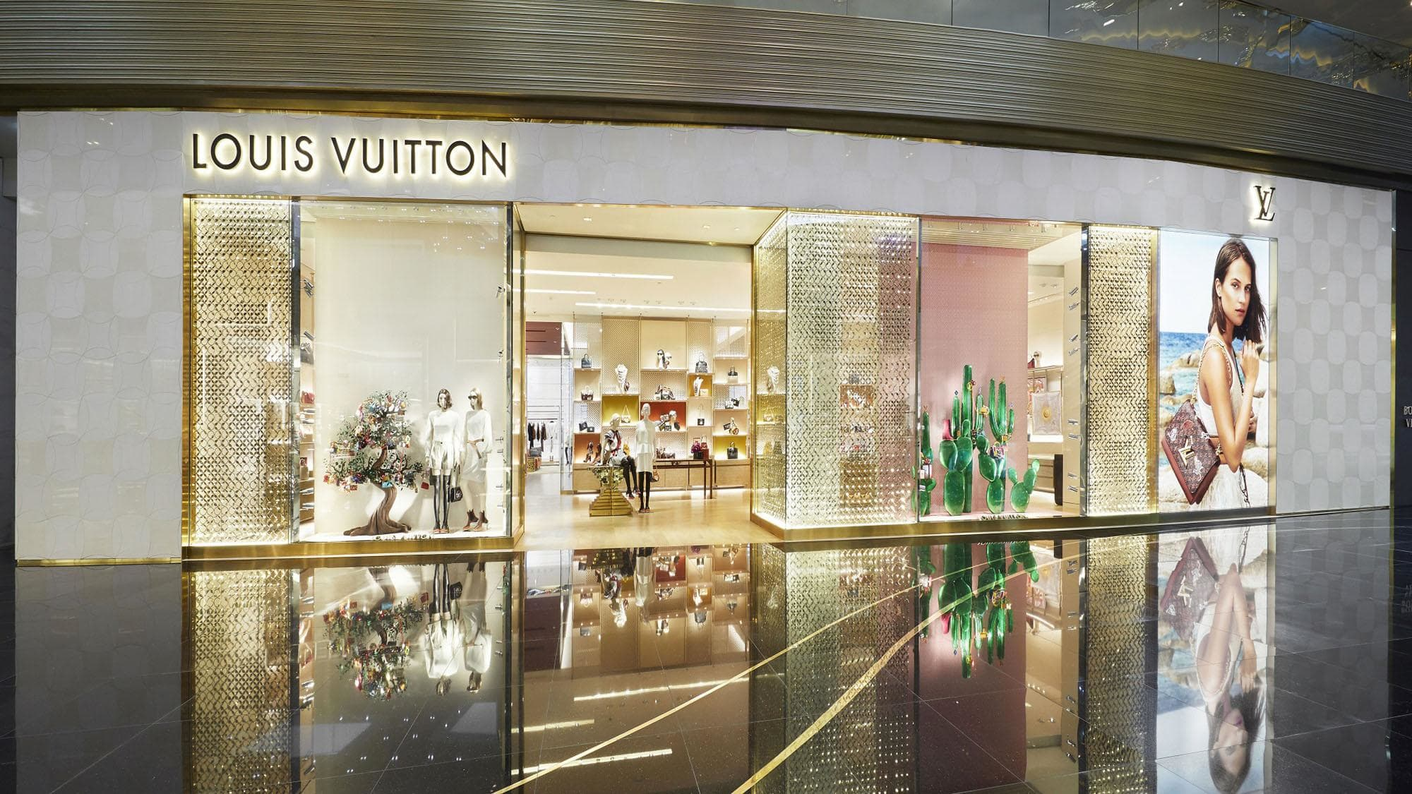 Louis Vuitton new store Bangkok at Inconsiam