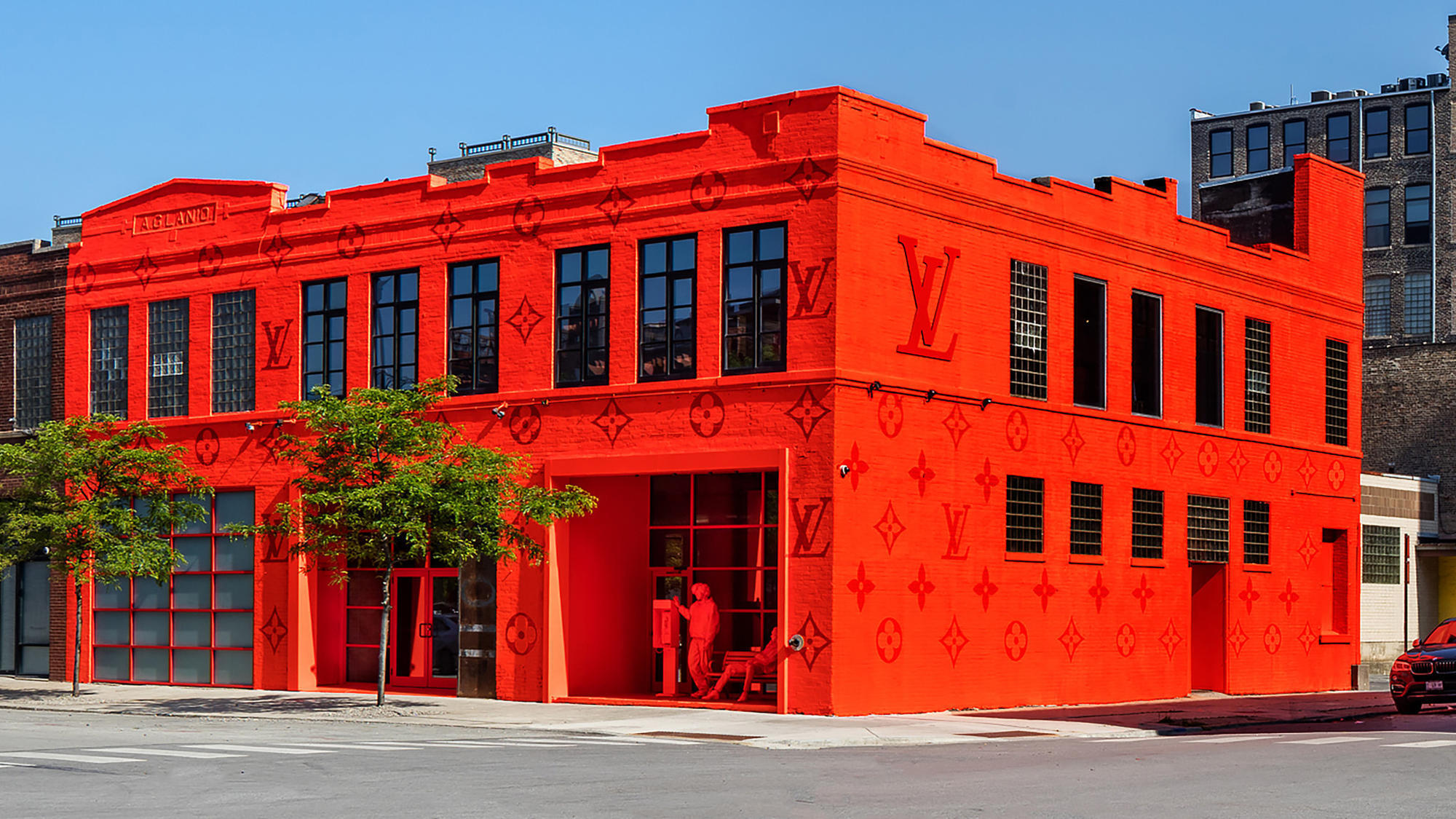 Louis Vuitton pop-up by Virgil Abloh (West Loop)