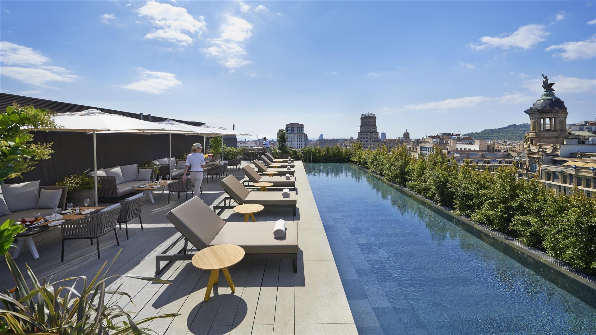 Mandarin Oriental Barcelona Terrat Rooftop
