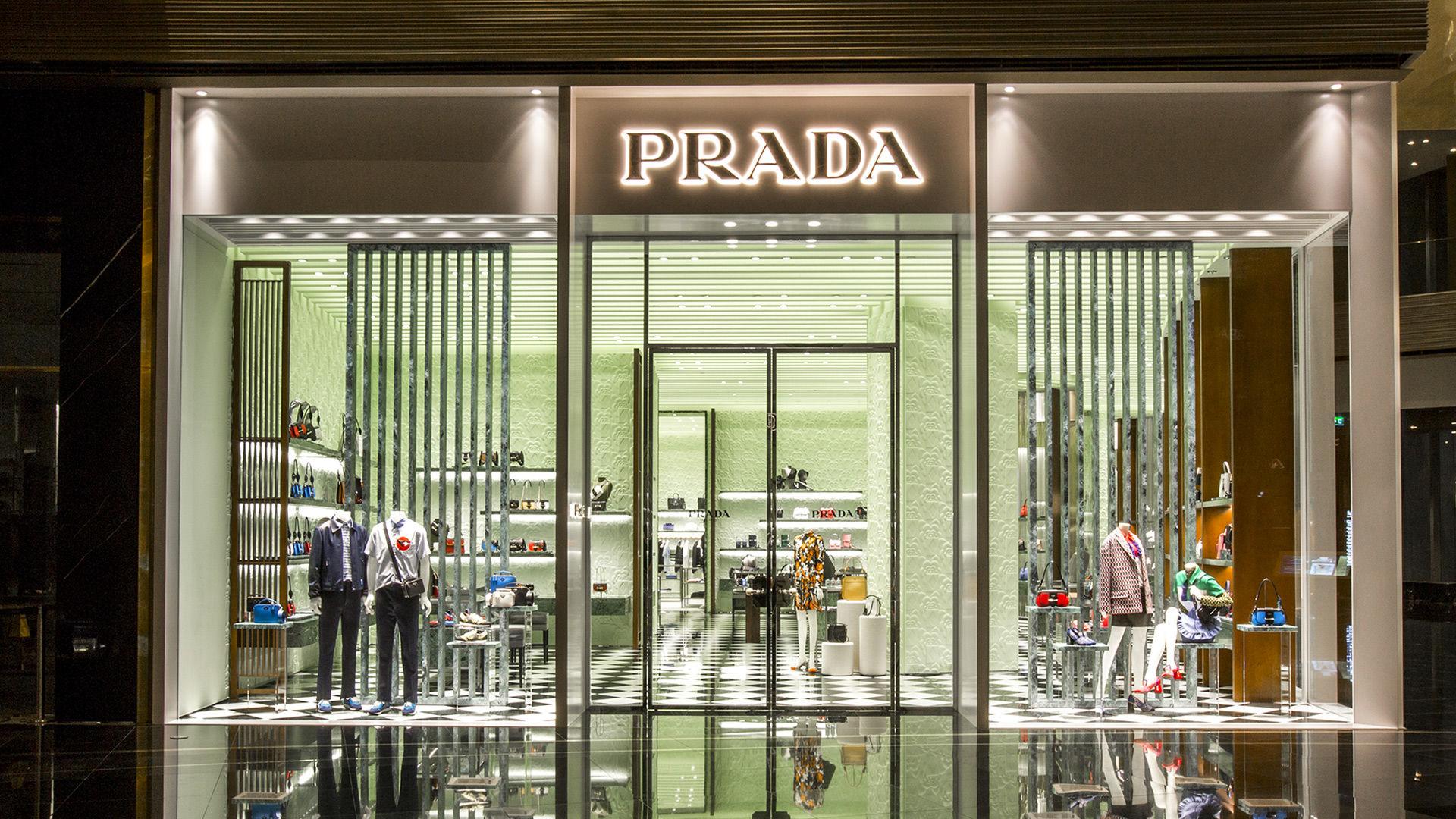 Prada new store Bangkok at Iconsiam
