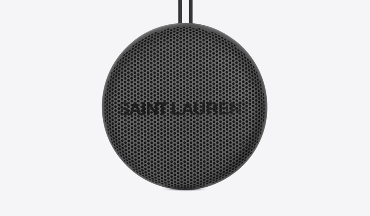 Saint Laurent x B&O All-Black Speaker Collection