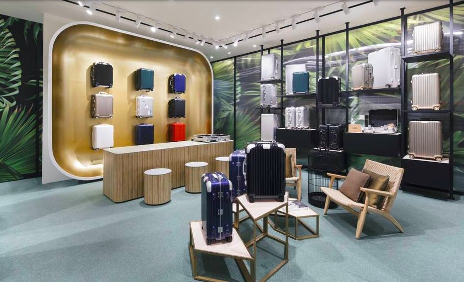 Rimowa new store at Raffles Singapore