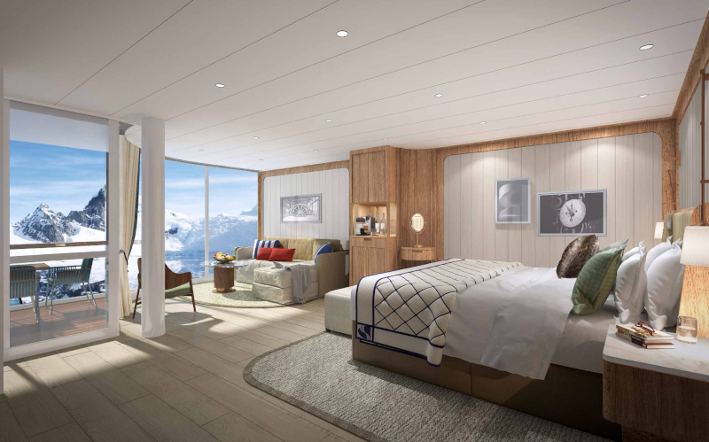 Seabourn expedition ships - Penthouse Suite