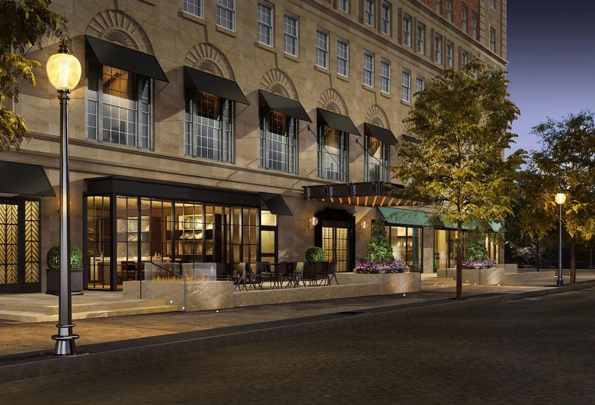 TAJ Hotel Boston renovations
