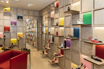 Manolo Blahnik new boutique at Selfridges London