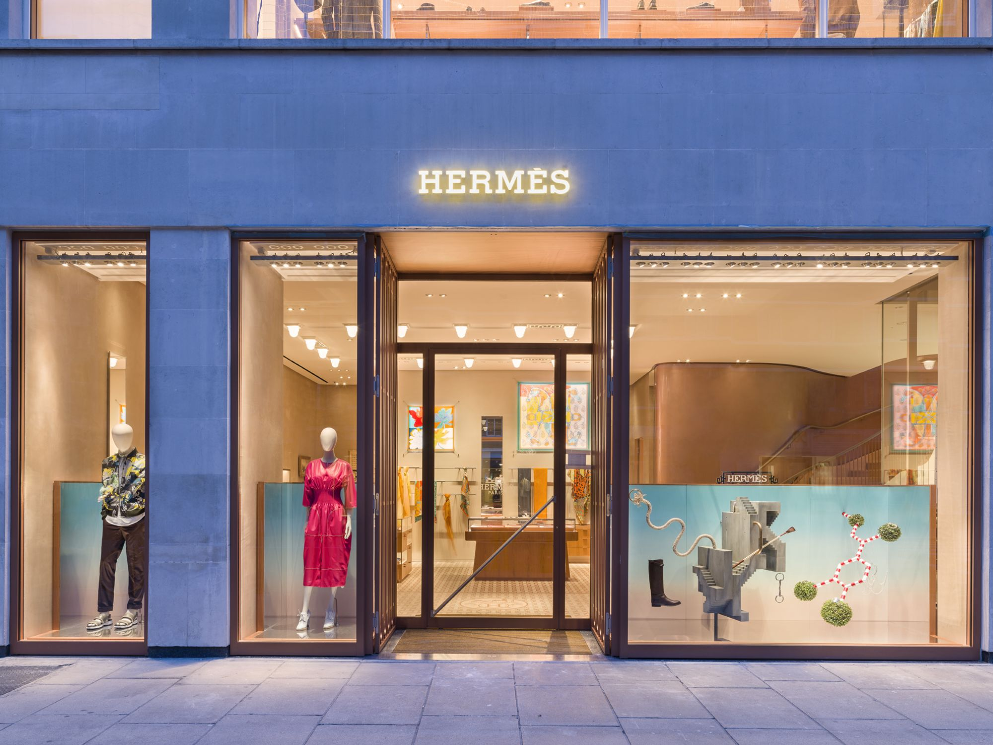 Hermes new store London at Sloane Street