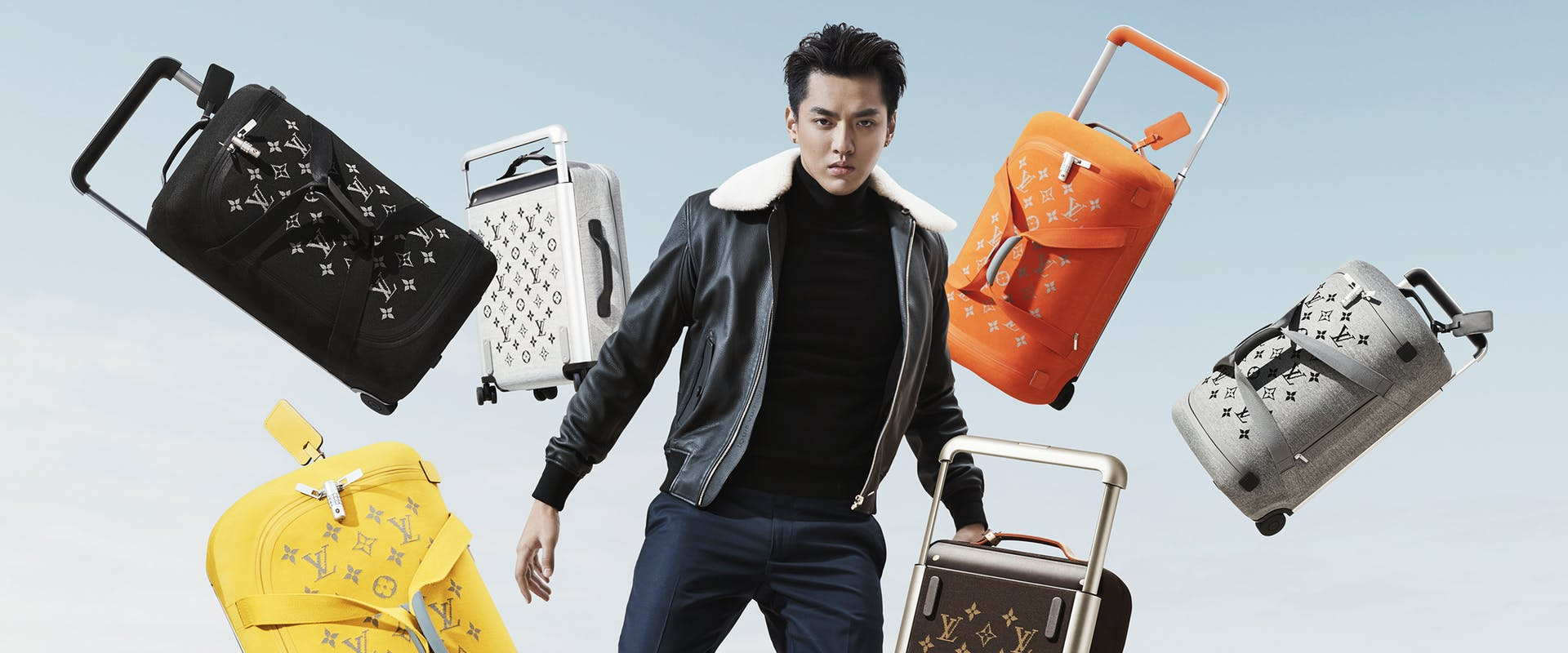 Louis Vuitton luggage campaign 2019