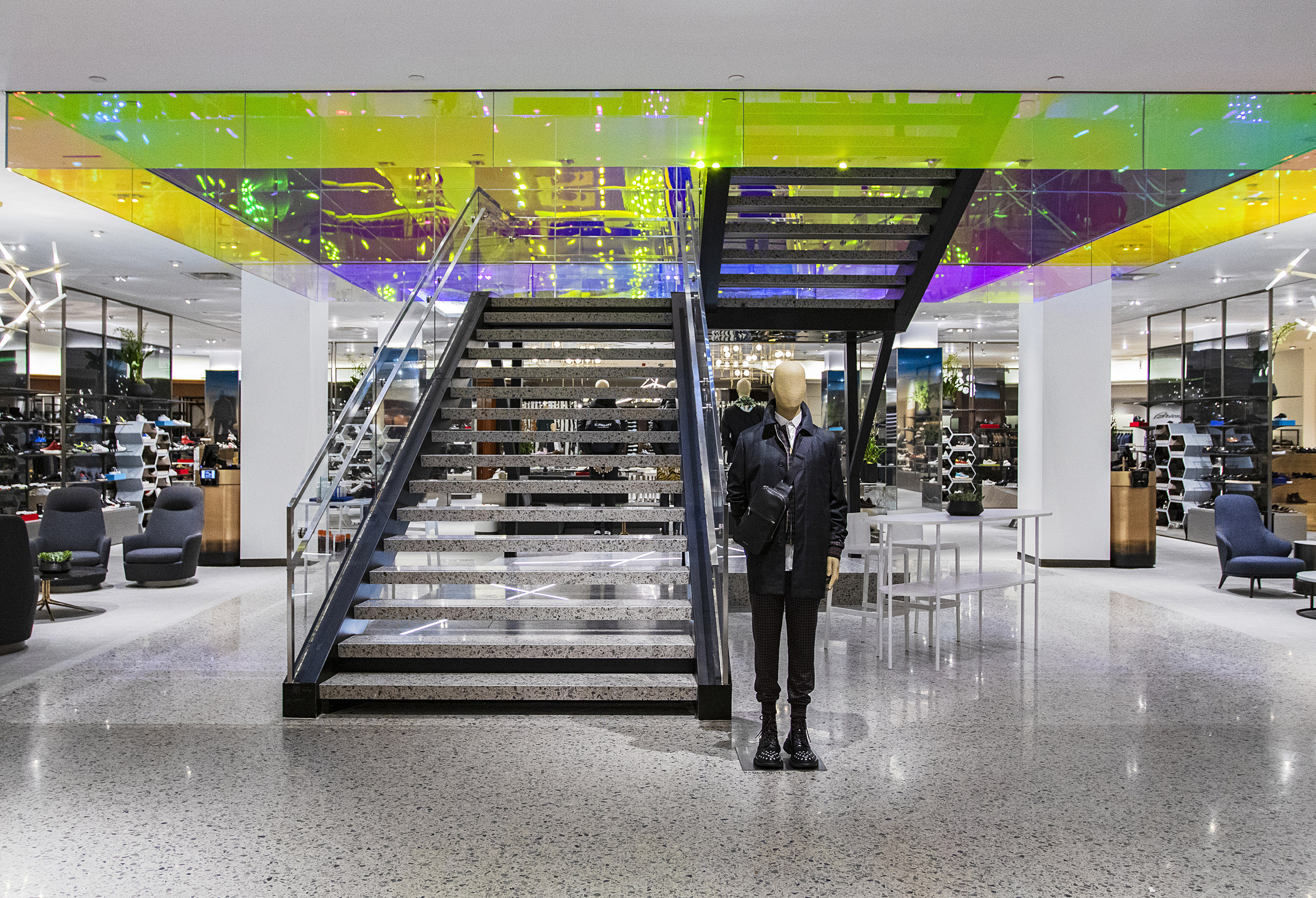 Saks Fifth Avenue NYC opens new men's shoes department