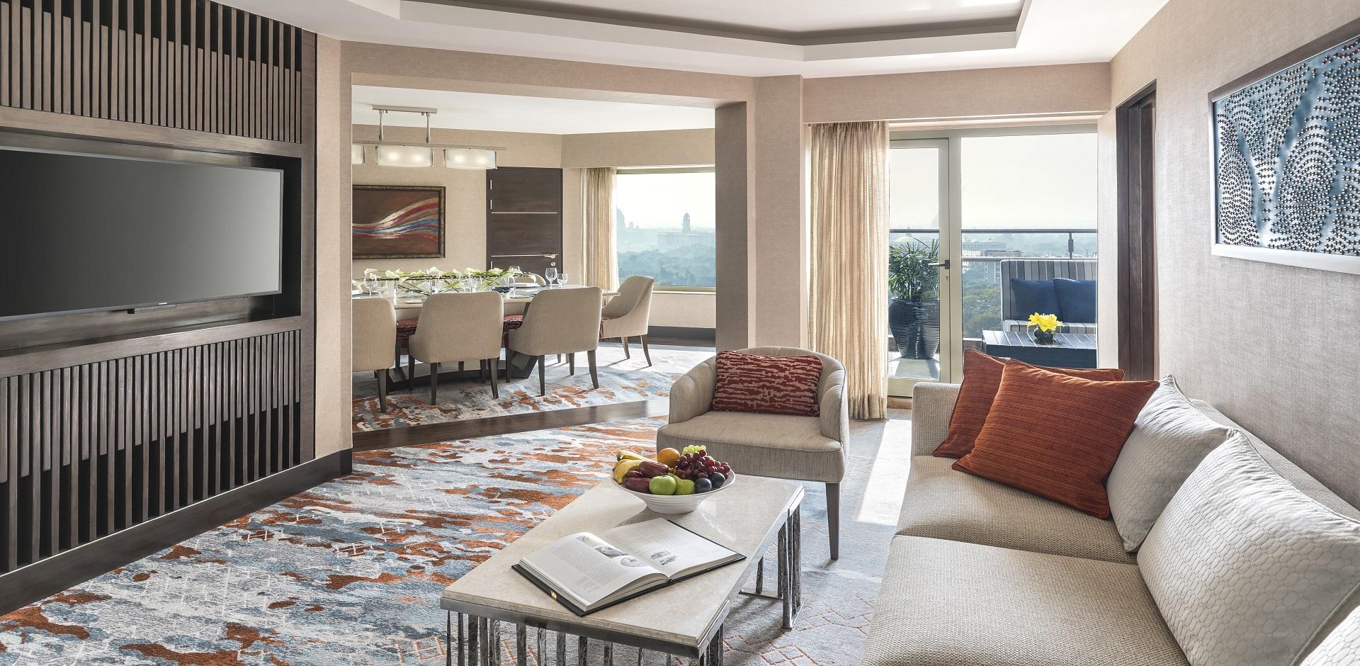 Shangri-La New Delhi - newly renovated suite