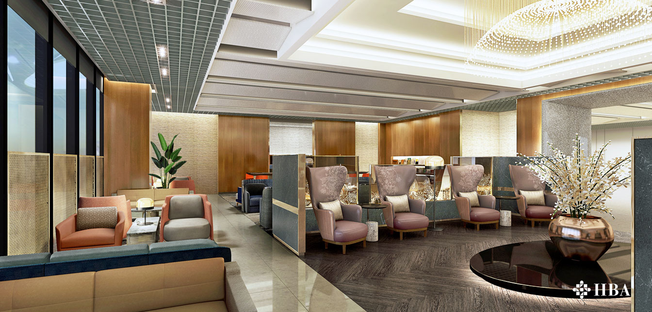 Singapore Airlines new Silverkris and Krisflyer Gold Lounge at Changi Airport