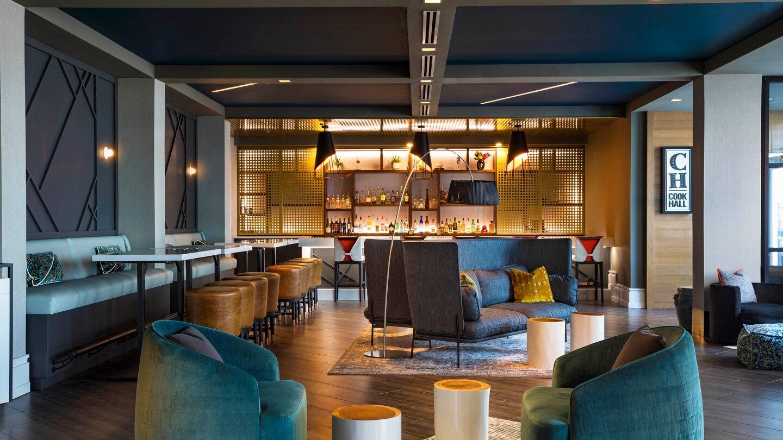 W Atlanta-Buckhead renovated living room