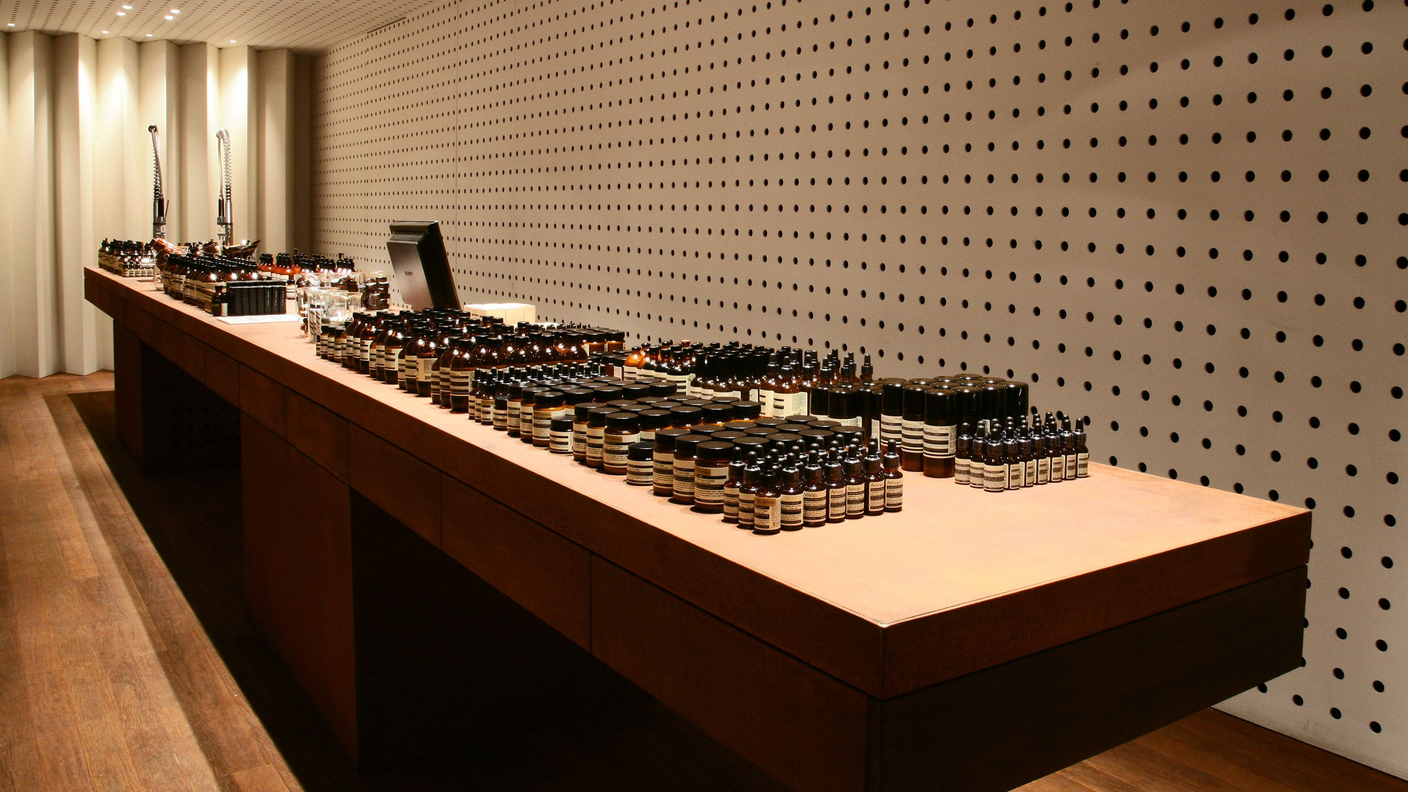 Aesop new boutique