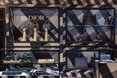 DIOR exclusive pop-up at Harrods