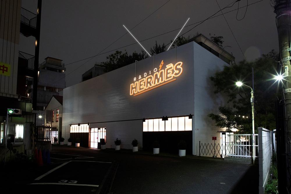 Hermès pop-up radio station in Tokyo