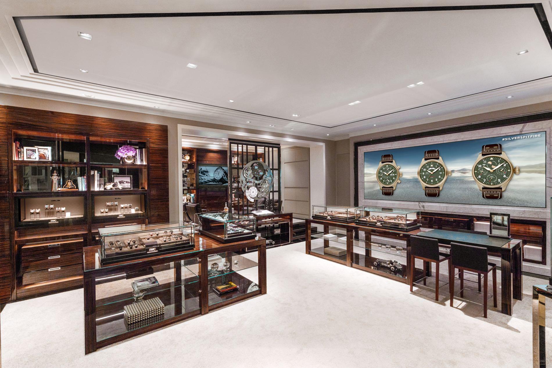 IWC new flagship store Singapore at Marina Bay Sands