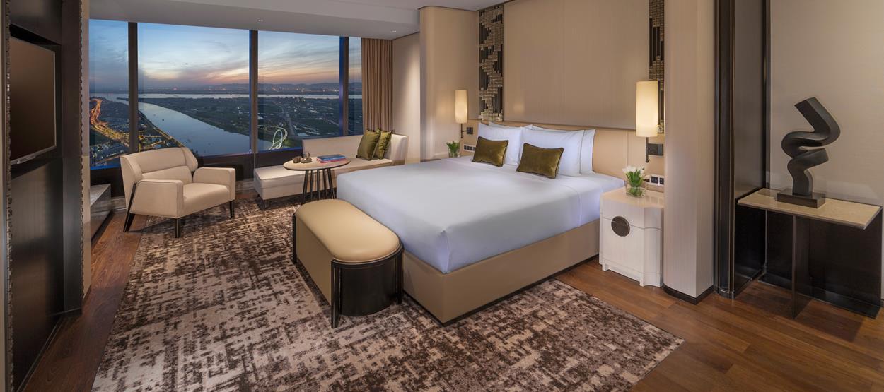 Jumeirah Nanjng - suite
