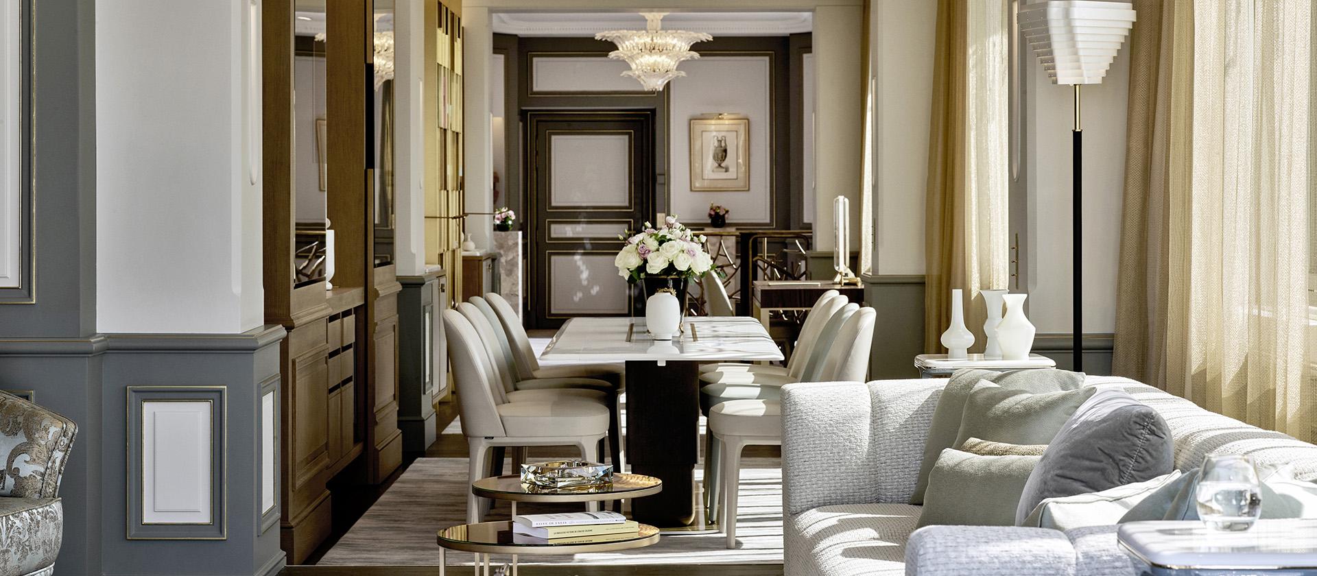 LE MEURICE Paris Belle Etoile Pethouse Suite