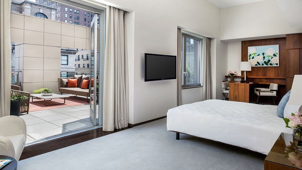 Langham New York newly renovated Terrace Rooms