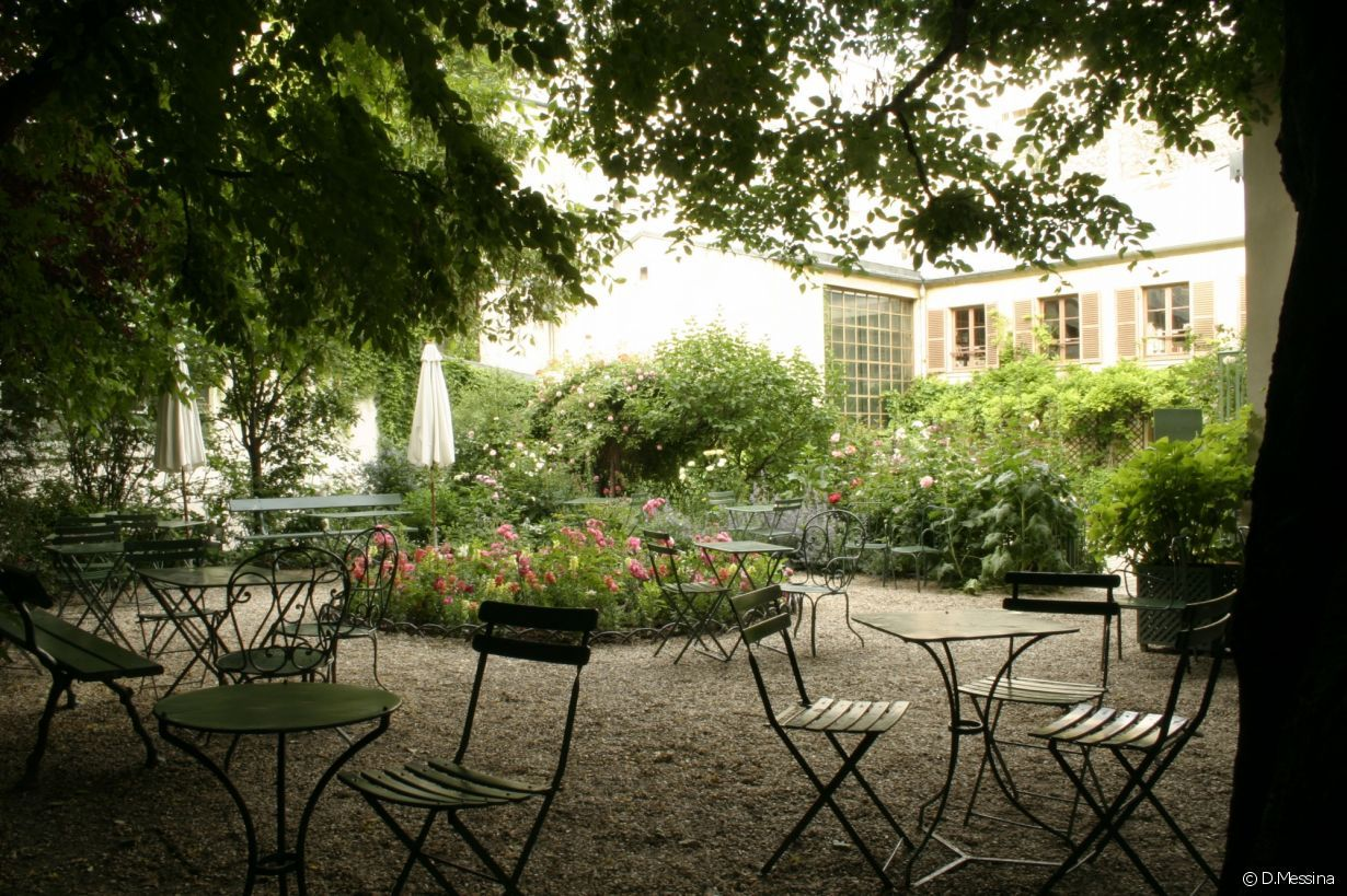 Le Jardin Du Musée De La Vie Romantique,