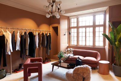 Matchesfashion showroom in Carlos Place