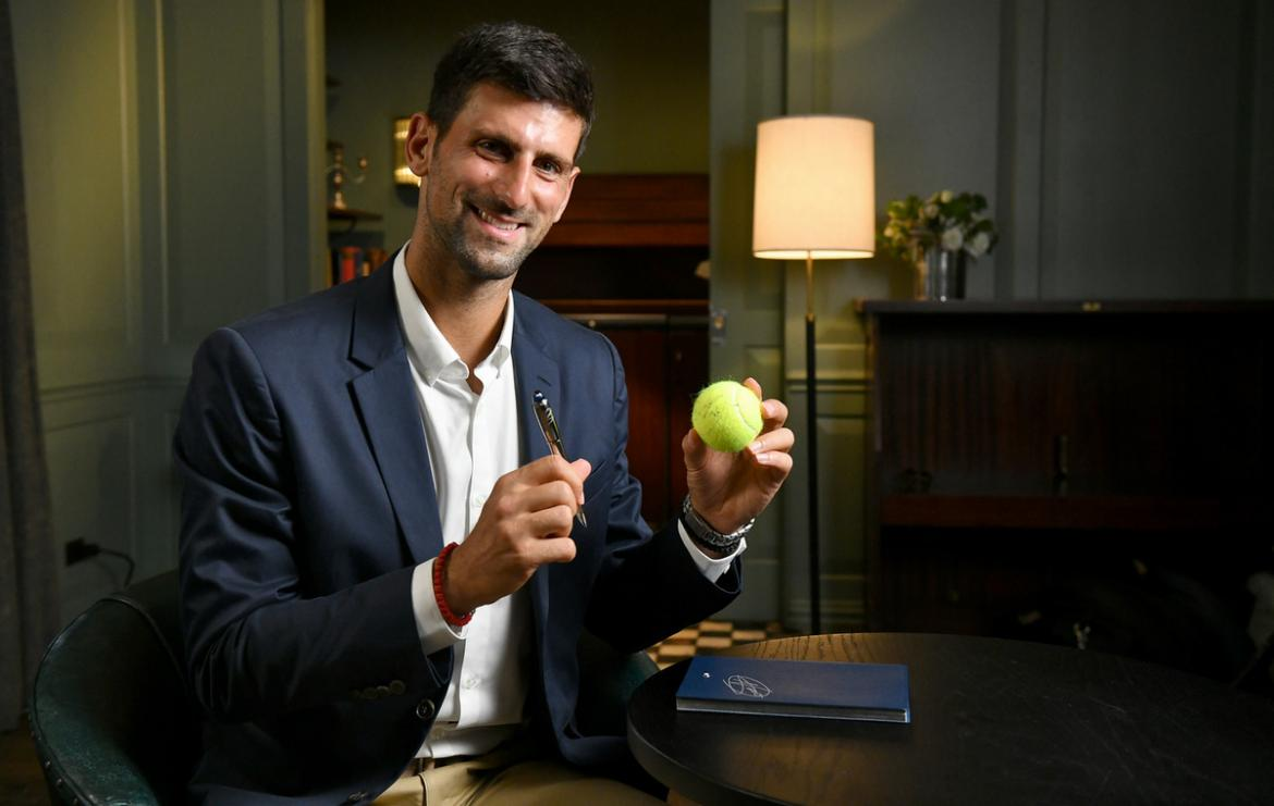 Montblanc x Novak Djokovic Foundation