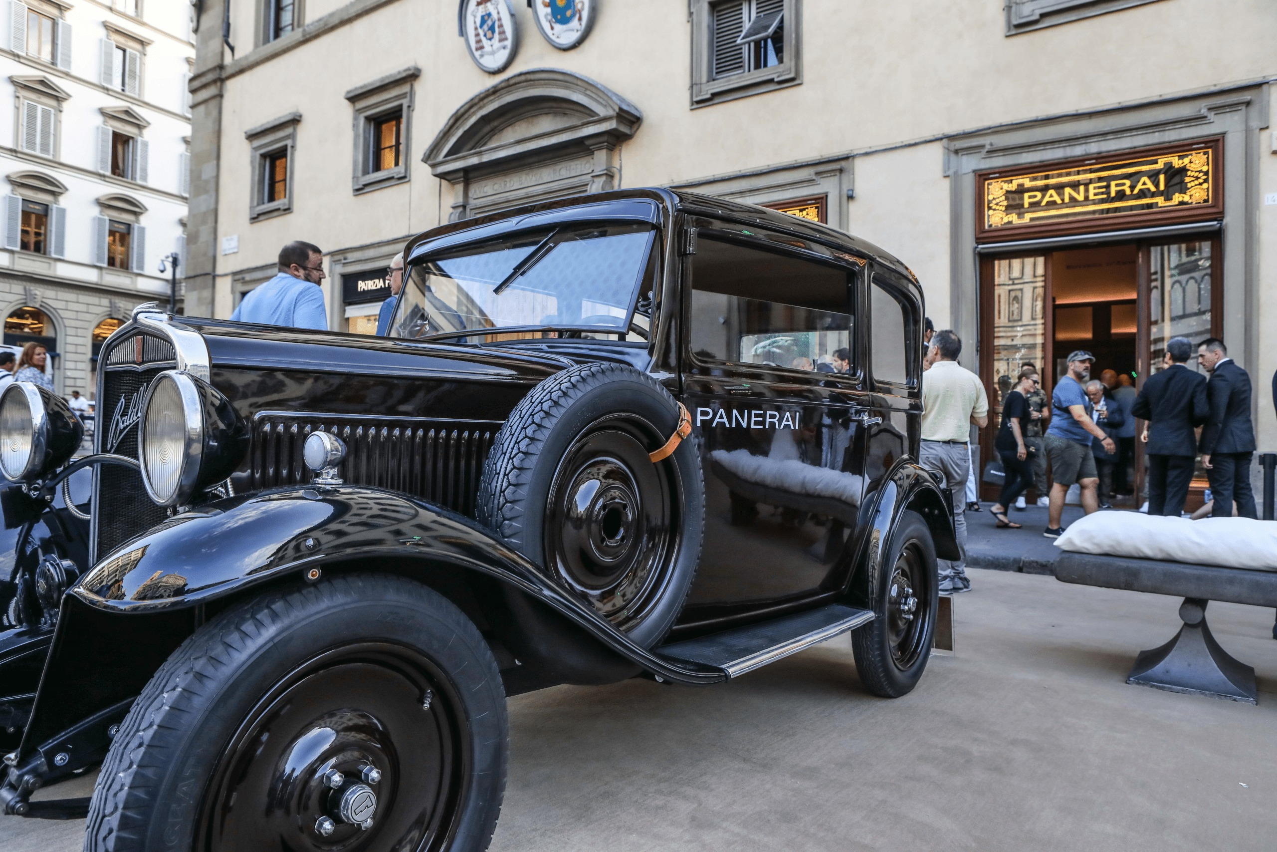 Panerai reopens flagship and museum in Florence at Piazza San Giovanni