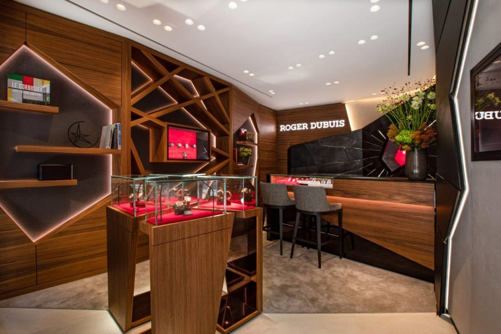 Roger Dubuis new boutique in London at Old Bond St