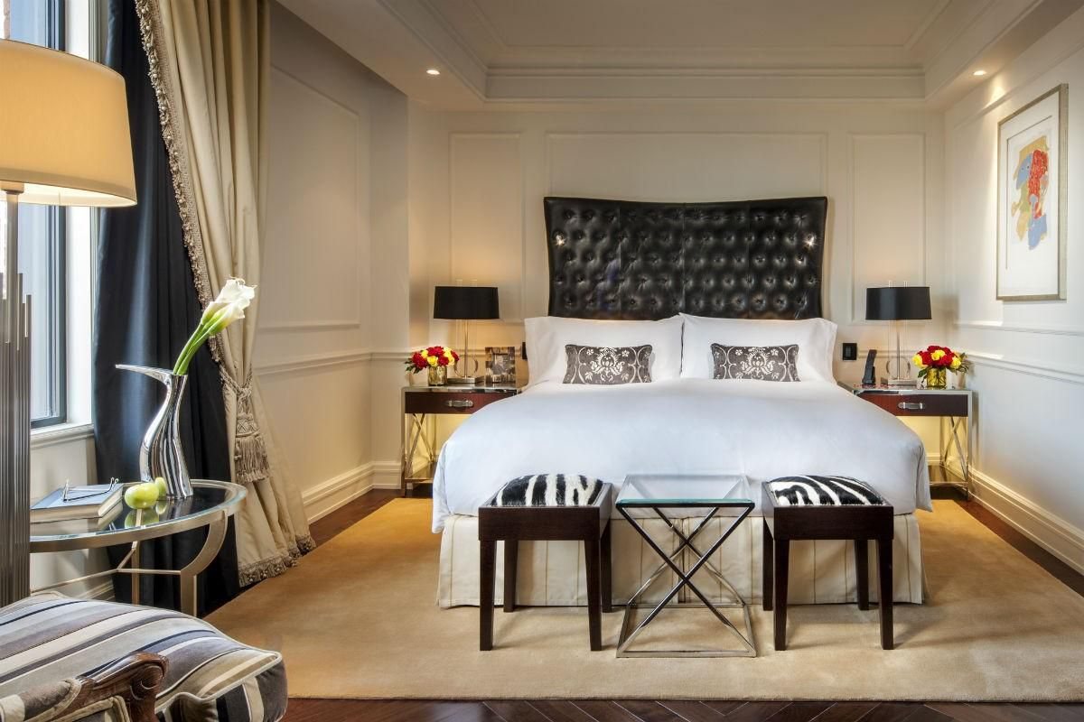 Rosewood Washington DC newly renovated Townhouse Suite