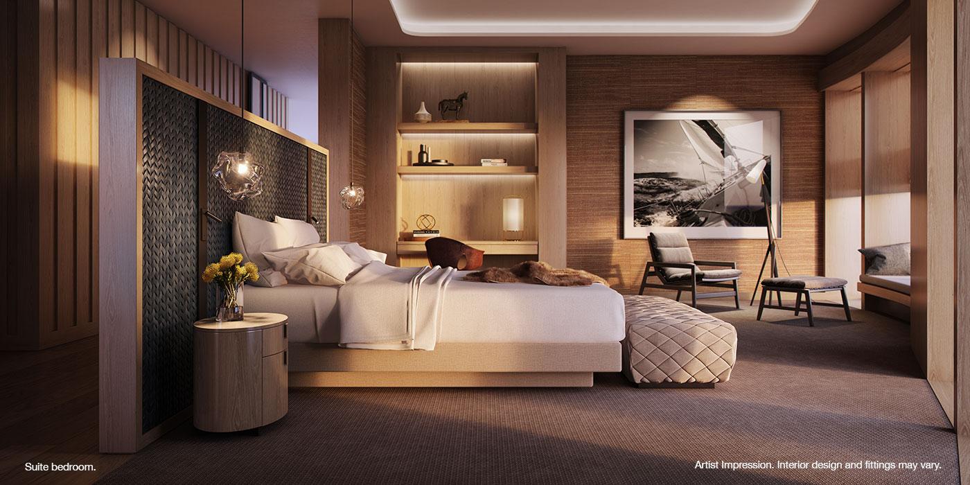The Ritz-Carlton Perth suite