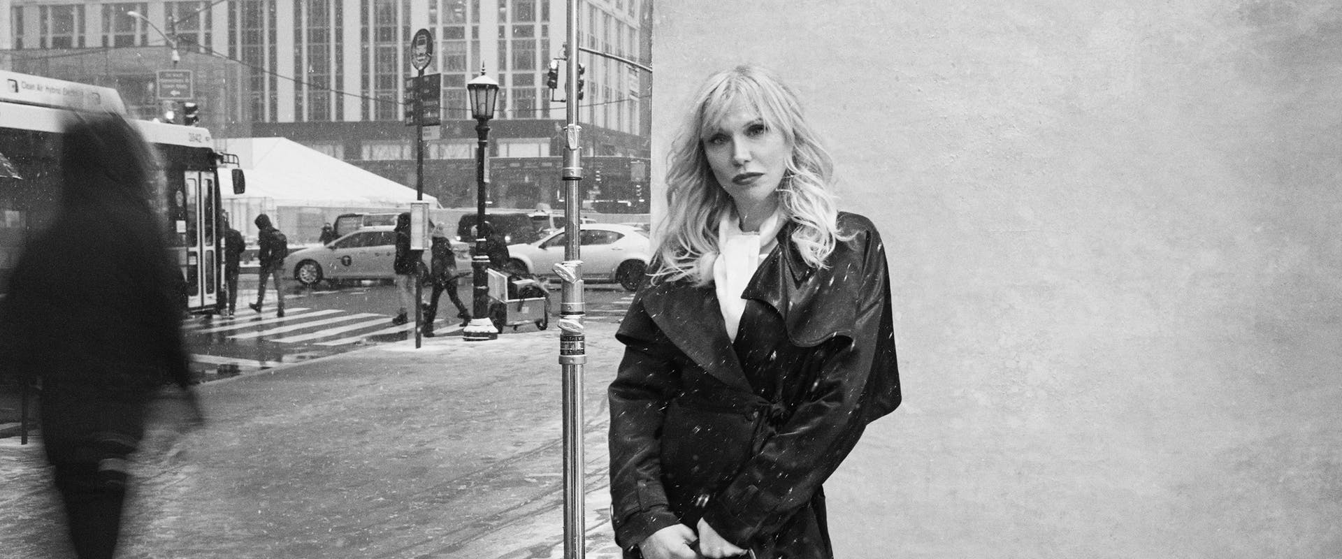 DELVAUX - Courtney Love for 'New York Stories'