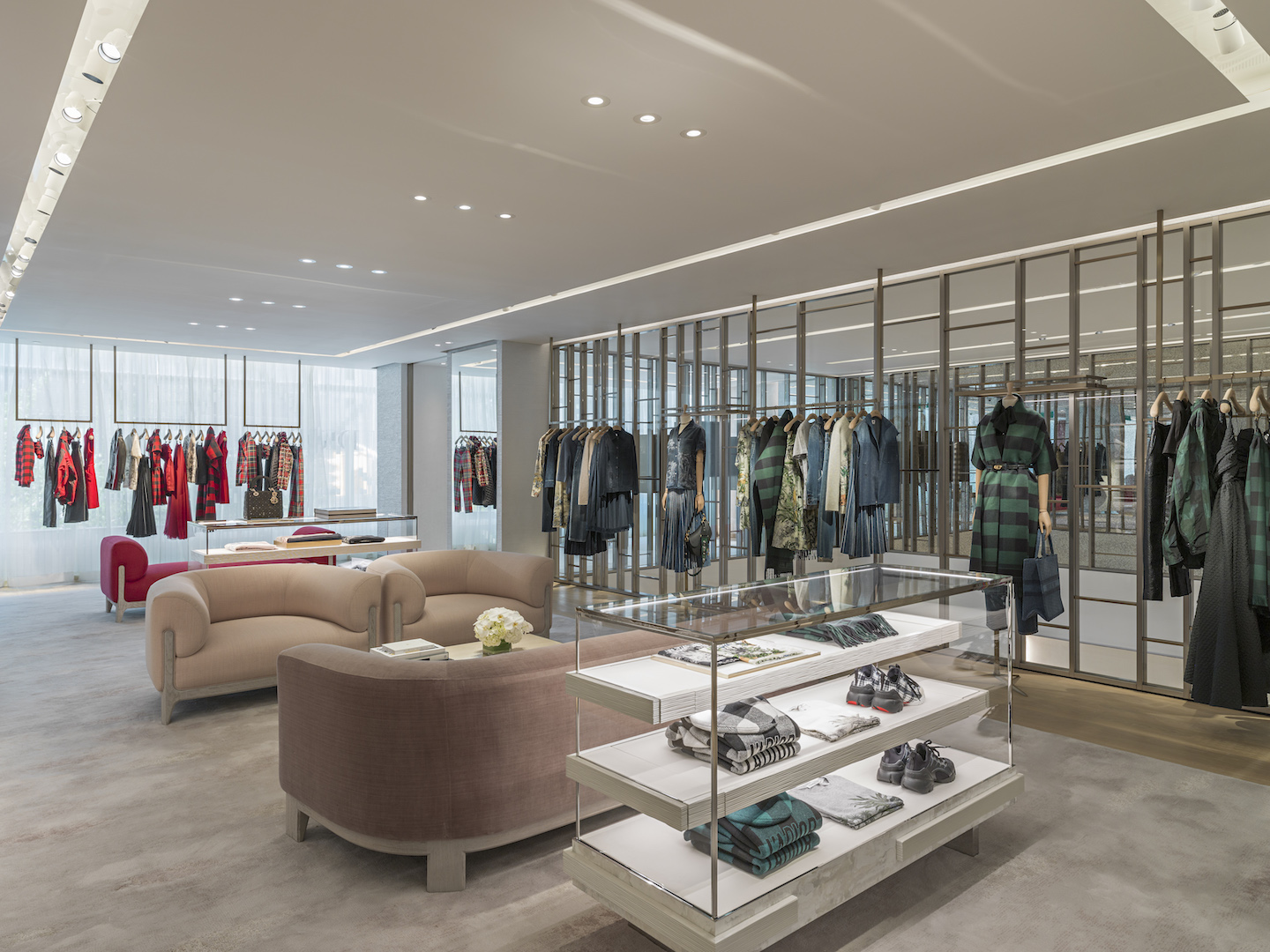 Dior flagship store in Toronto