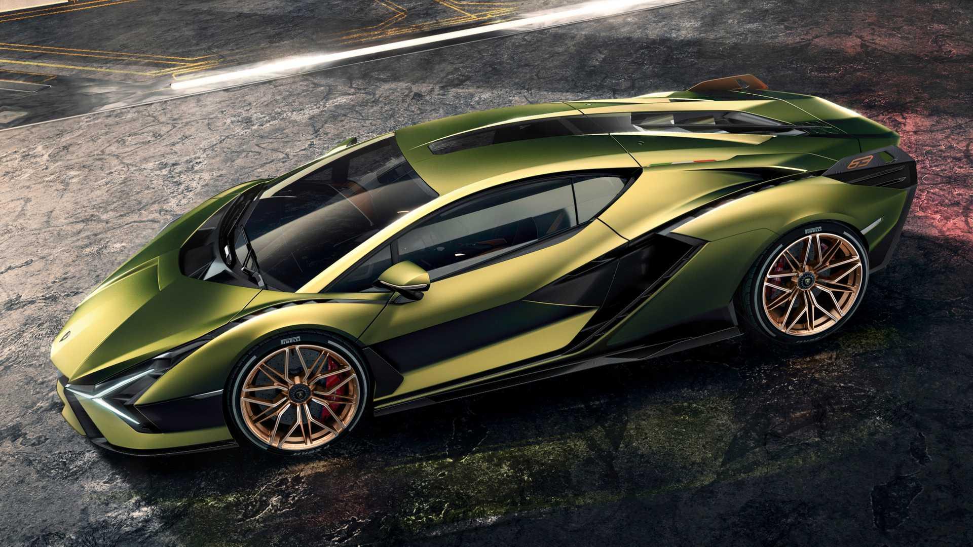 Lamborghini Sian to debut at 2019 Frankfurt Motor Show
