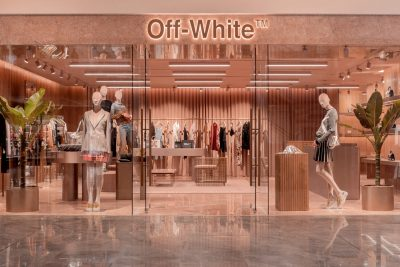 Off White store Singapore at Paragon
