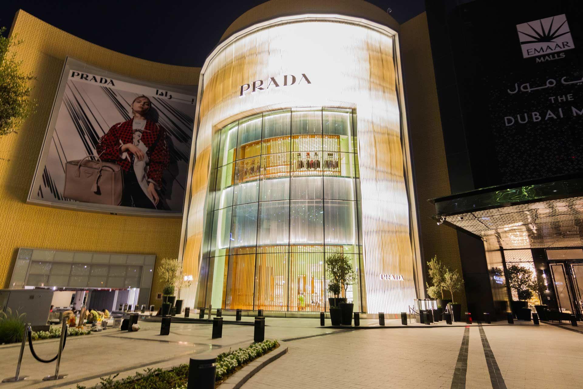 Prada at Dubai Mall