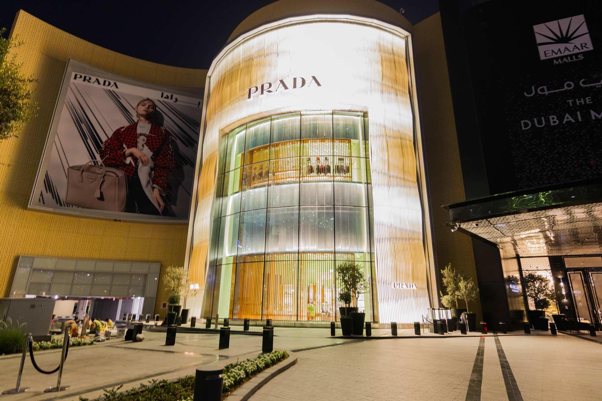 Prada at Dubai Mall